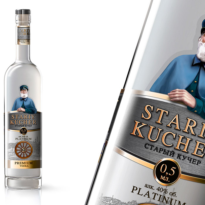 Vodka Stariy Kucher