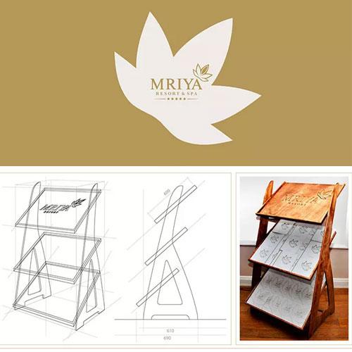 Проектирование промо-стенда для MRIYA RESORT&SPA