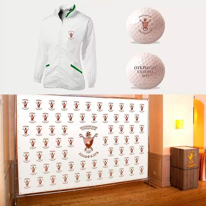 Разработка фирменного стиля для гольф клуба